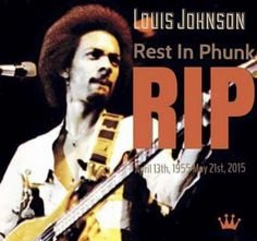 """Nicknamed Thunder Thumbs (George was known as Lightning Licks), Mr. Johnson created a driving sound with his percussive, string-slapping technique. He was an early popularizer of the electric slap-bass style in funk, along with Larry Graham of Sly and the Family Stone. The Brothers Johnson had a number of platinum albums in the 1970s and '80s. Their singles """"I'll Be Good to You,"""" """"Stomp!"""" and """"Strawberry Letter 23"""" all reached No. 1 on the Billboard R&B chart and made the pop Top 10. Photo…"""