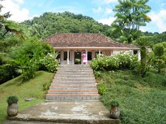 Creole house, Martinique, French West Indies