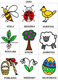 Pro Šíšu: Rocni obdobi - obrazky Aurora, Spring Crafts, Adult Coloring Pages, Book Activities, Educational Toys, Diy And Crafts, Jar, Teaching, Children