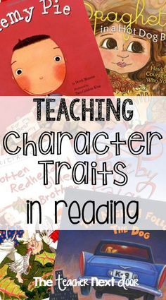 Teaching Character Traits in Reading