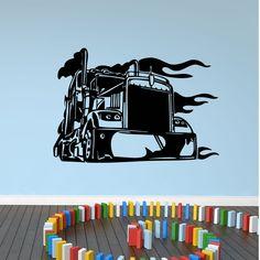 Quality Big Truck Wall Sticker