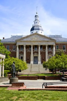 Maryland State House, Annapolis (capital of Maryland)