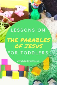 The Parables of Jesus for Toddlers – Baby Devotions Toddler Sunday School, Kids Sunday School Lessons, Sunday School Activities, Sunday School Crafts, Bible Story Crafts, Bible Crafts For Kids, Bible Stories, Kids Bible, Family Crafts