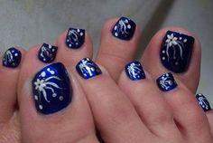 Nail art-Toes