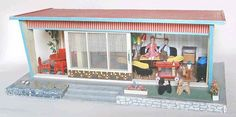 Puppenhäuser 50er 13