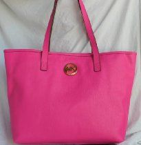 Michael Kors Jet Set Travel Tote Zinnia Pink Leather From Michael Kors - Bags or Shoes Shop