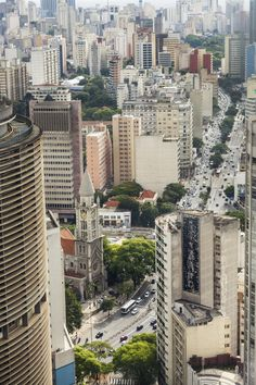 dowtown São Paulo, Brazil