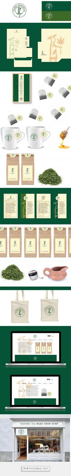 Stiska Konoplja Hemp Tea Branding and Packaging by Gregor Ivanusic   Fivestar Branding Agency – Design and Branding Agency & Curated Inspiration Gallery