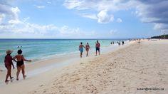 Riu Palace Riviera Maya, beach with silky sand. Great for swimming and long walks