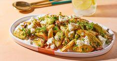 Krémes sült cékla   Street Kitchen Superfood, Pasta Salad, Feta, Ethnic Recipes, Kitchen, Dios, Crab Pasta Salad, Cooking, Kitchens