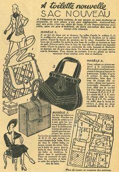 Vintage Luggage, Vintage Purses, Vintage Bags, Vintage Handbags, Diy Bags Purses, Diy Purse, Retro Mode, Mode Vintage, Make Do And Mend