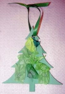 Christmas Craft :: Paper Christmas Tree Ornament  http://www.stockpilingmoms.com/2012/12/paper-christmas-tree-ornament-frugal-craft-idea/