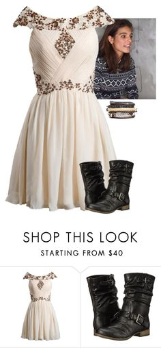 """""""School - Adelaide Creed"""" by fandomqueen-378 ❤ liked on Polyvore featuring Carlos by Carlos Santana"""