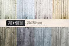 Wood textures digital background by GrafikBoutique on @creativemarket