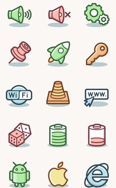 Capitalist Icons Set — A collection of 600 icons in 2 styles with an original look and start-up spirit! | by PixelBuddha