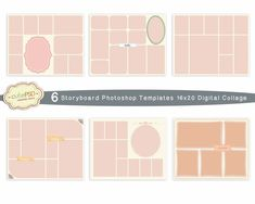 Photo Collage Template X And X Storyboard By Neusdesigns
