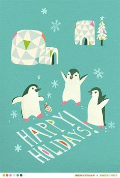 Irene Chan: Penguins And Igloos