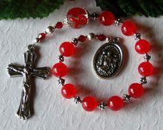St. Andrew Avellino Stroke Awareness Rosary - Saint Avellino Rosary - Stroke Rosary