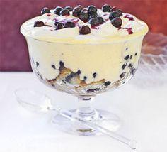 Рецепт черничного десерта