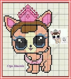 62 Best Lol Surprise Perler Images Lol Dolls Stitch
