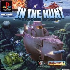 In the Hunt (1993),this game was developed by the team who would go on to create the Metal Slug series for SNK.