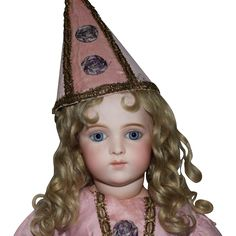 Breathtaking French Bisque Bru Brevete Doll in Antique Costume from joan-lynetteantiquedolls on Ruby Lane
