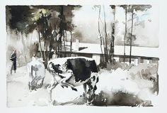 Akvarell, Elisabeth Biström 2017.   #watercolor #watercolour #art Watercolour Art, Watercolors, Outdoor, Instagram, Inspiration, Outdoors, Biblical Inspiration, Water Colors, Watercolor Paintings