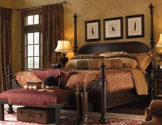 Victorian Interior Design for Apartment Living – The Bedroom 5 Piece Bedroom Set, Bedroom Sets, Dream Bedroom, Home Bedroom, Bedroom Furniture, Master Bedroom, Canopy Bedroom, Canopy Beds, Bedroom Colors