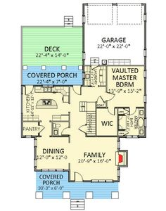 Vaulted Master Suite - 46258LA | Craftsman, Northwest, Narrow Lot, 1st Floor Master Suite, Butler Walk-in Pantry, CAD Available, PDF | Architectural Designs