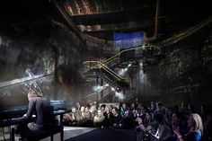 172-Year-Old Tunnel Project to Become London's Newest Performance Venue