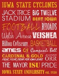 Iowa State Cyclones Design