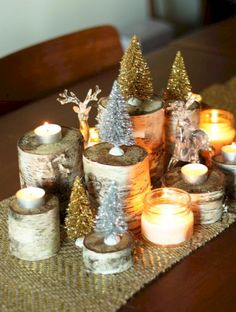 awesome 46 Stylish Christmas Centerpieces Ideas with Ornaments