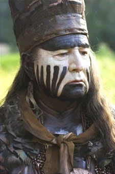 August Schellenberg as Chief Powhatan in The New World