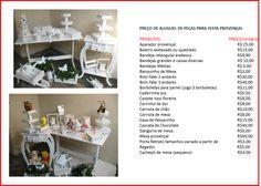 Festa Provençal / móveis