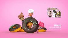슈가빌리지에서 온 요정, 팅글리 . TING GLEES, sweet fairies from Sugar Village . #tingglees #tingglee #donut #cooking #sweets #sweetfairy #sugarvillage #chocolate #초콜렛 #도넛 #팅글리 #슈가빌리지 #스윗한요정 #달달 #맛나겠다 #sweet #delicious