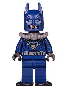 Minifig : Lego Batman - Dark Blue Wetsuit and Flippers [Super Heroes:Batman II] - BrickLink Reference Catalog Lego Dc, Lego Batman 2, Batman Sets, Superhero, Lego Minifigs, Lego Ninjago, Lego People, Batman Dark, Cool Lego Creations