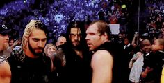 Sexy Rollins, Sexy Reigns and Crazy Sexy Ambrose.