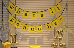 What's it Gonna Bee  Gender Reveal Party