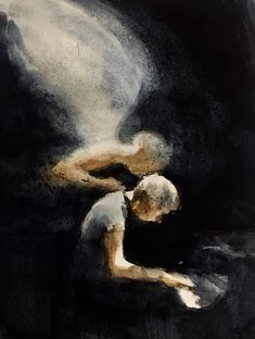 a piano player being kissed by an angel. I read somewhere in Mackesy writings of what the angel kissing the head of the person he paints means. Paint Meaning, Charlie Mackesy, Art For Art Sake, Art Plastique, Painting Techniques, Art Pictures, Amazing Art, Watercolor Art, Cool Art