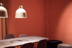 Bell Lamp, Form Table, Normann Copenhagen showroom - available at Crioll Interior Studio & Design Shop, Eindhoven