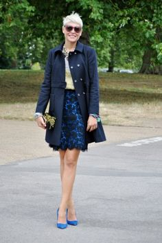 Love this whole outfit and her hair is perfect for it. 30  Daring Style Snaps Straight From London