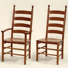 Colonist Captain & Side Chairs
