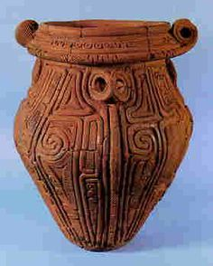 Jomon - Prehistoric Japanese Pottery Japán terrakotta