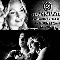 Damon and Caroline in 8x16 {by @pinterestparia}