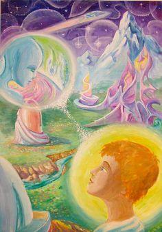 Мир души человека. Рисуют дети : НОВЫЙ МИР