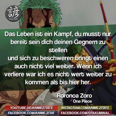 #RoronoaZoro #OnePiece #AnimeZitate