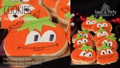 Biscuiti Pumpkins de Halloween | food4party Halloween Pumpkins, Fondant, Sugar, Cookies, Desserts, Recipes, Food, Crack Crackers, Tailgate Desserts