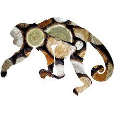 Printable Monkey Art Print, Animal Art Monkey, Safari Poster, Rustic... ($5.50) ❤ liked on Polyvore featuring home, home decor, wall art, safari wall art, printable wall art, animal posters, monkey poster and critters poster