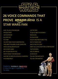 Alexa Star Wars