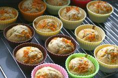 Sabor en cristal: Magdalenas de zanahoria, comino y canela